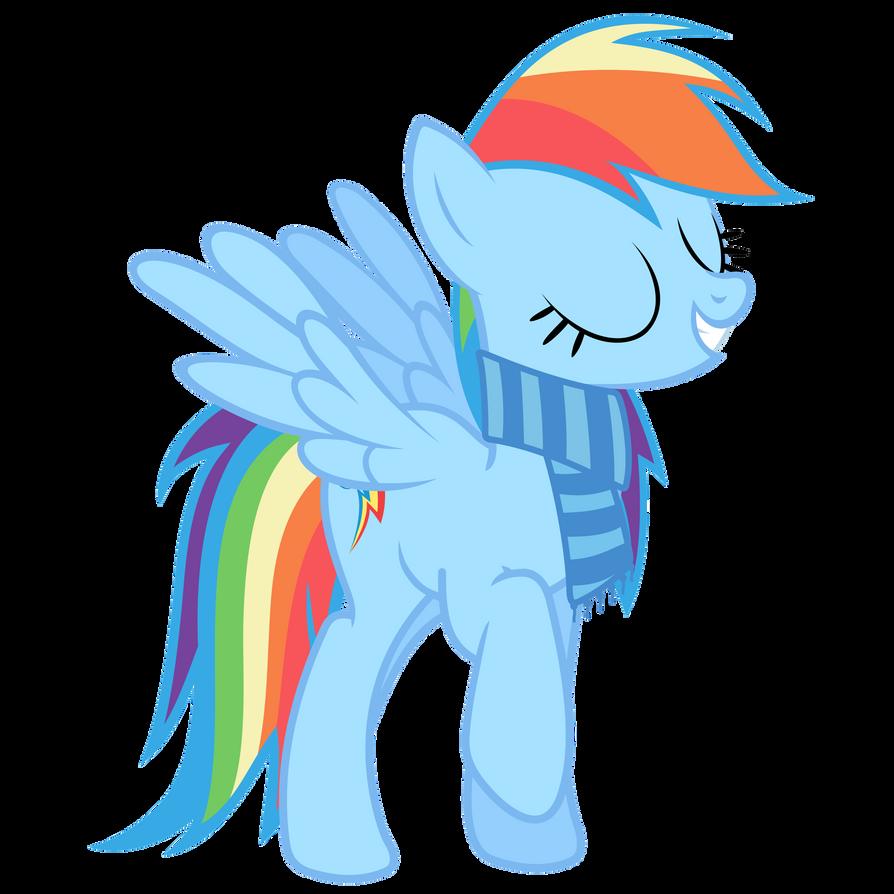 Rainbow Dash Vector