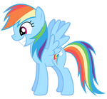 Rainbow Dash Vector - Smile Inc.
