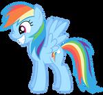 Rainbow Dash Vector - Smile Inc.