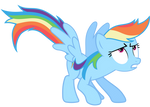 Rainbow Dash Vector - GAK? Where?