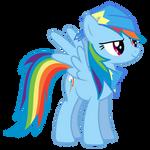 Rainbow Dash Vector - A True Fan