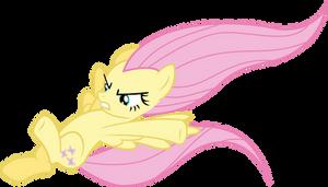 Fluttershy Vector - Hiiyah!