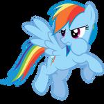 Rainbow Dash Vector - NO! That's mine!