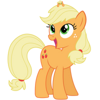 Applejack Vector - AJ and lil AJ by Anxet