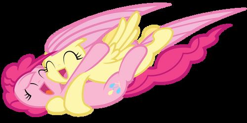 Fluts and Pinkie - Hugz!