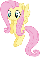 Fluttershy Vector - Is there someone down there? by Anxet