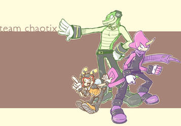 team chaotix awwwwwright by grindzone