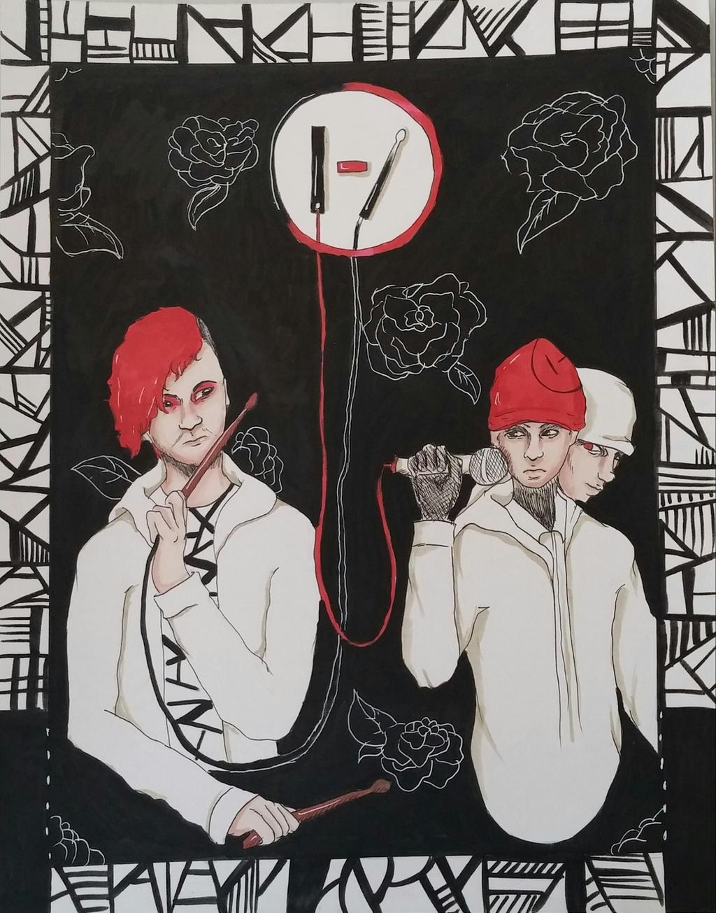 Twenty One Pilots Fan Art By Aya4321 On Deviantart