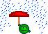 April Showers emoticon by IcyFox44