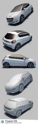 Peugeot 208 '2013 by RaMoNVicious