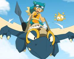 Fly by Fen825