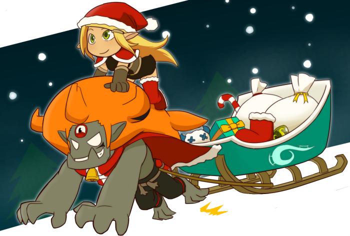 Merry Christmas! by yamiyonofen