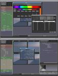 Color picker + Code editor