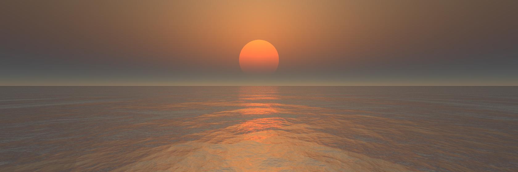 Picogen-Tutorial: A sunset