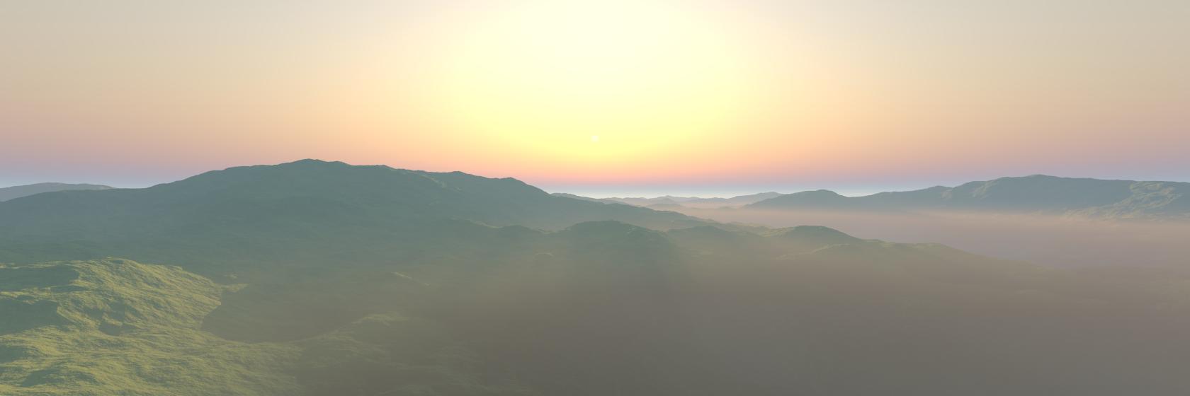 Calm Hills - Aerial View