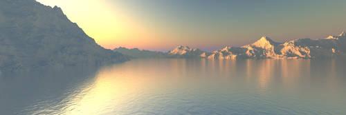 Lake Sunset by phresnel