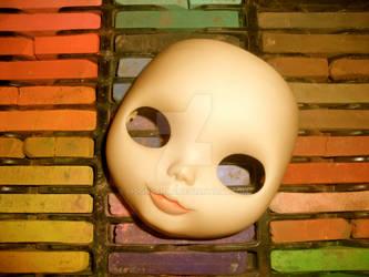 customizing my blythe doll