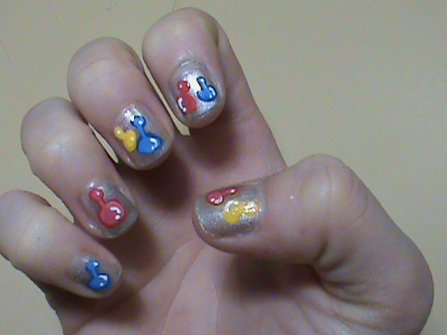Hasbro Sorry Board Game Nail Art Design by manicabana on DeviantArt