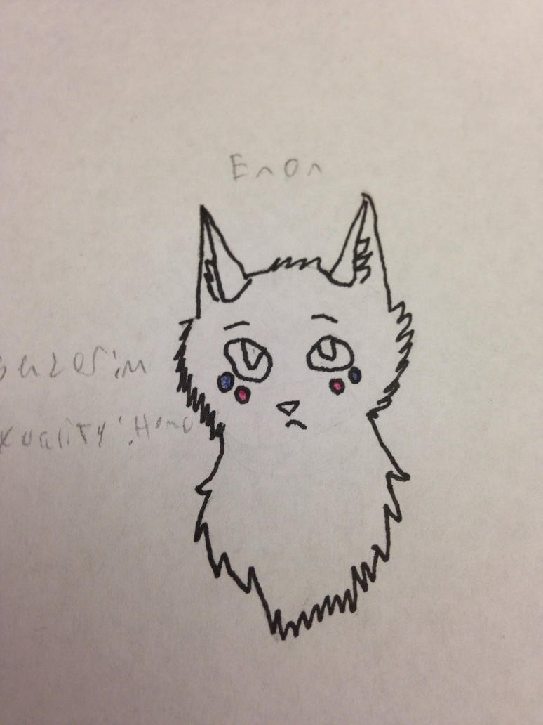Enon (cat character) by FortuneCookieCharmer