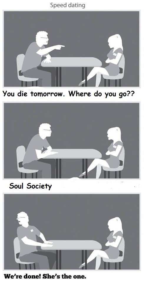 speed dating i die what do you do
