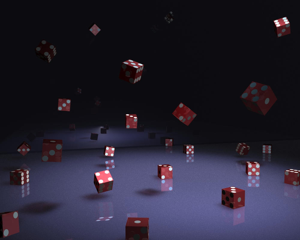 Falling Dice by BigFish420