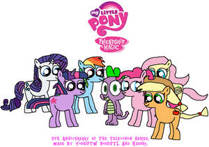 Celebrating 9 Years Of My Little Pony FIM