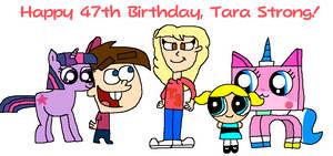 Happy 47th Birthday, Tara Strong!
