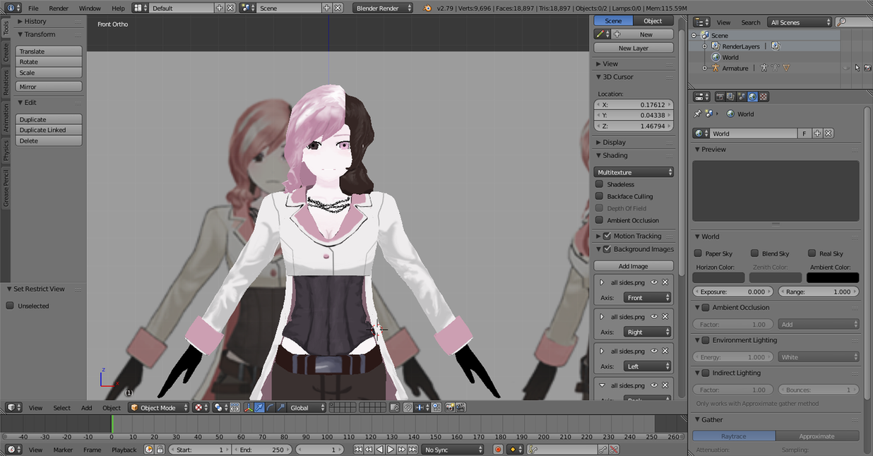 Rwby Neo 3d model by tidiestflyer ...