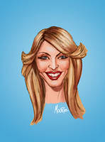 Madonna Caricature by HEARTBREAKKID