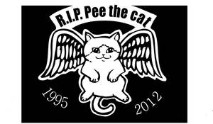 R.I.P.   Pee the cat by Switchum
