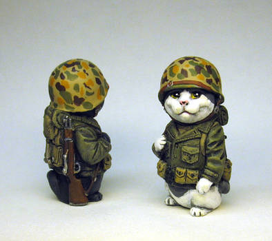 Marine Infantry Kitty by Switchum