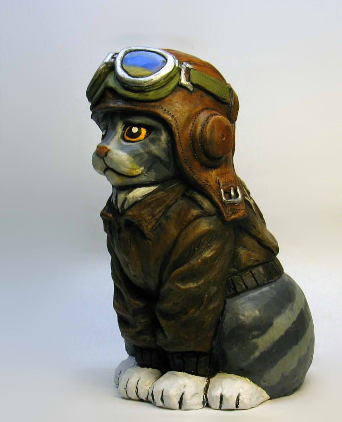 Avitor Kitty Bank by Switchum