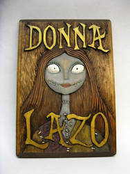 Plaque For Donna by Switchum