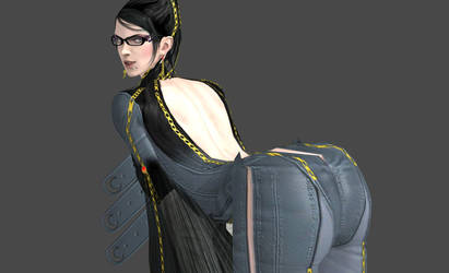Bayonetta Bending Over by Diony69