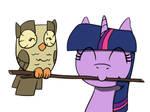 Twilight and Owlicious