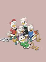 DuckTales 2017: Forgiveness Pt2 by Technicolourebel