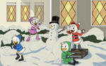 Ducktales: Snowball Fight