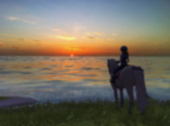 Sunset Islands by SammyPlays13