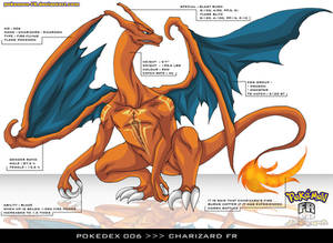 Pokedex 006 - Charizard FR