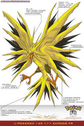 L'Pokedex 145 - Zapdos FR