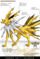 Pokedex 135 - Jolteon FR by frbrothers86