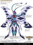 Pokedex 012 - Butterfree FR by frbrothers86