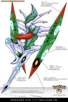 Pokedex 475 - Gallade FR by frbrothers86