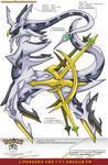 L'Pokedex 493 - Arceus FR