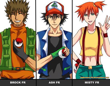 PokemonFRID 02 - Legendary Trio