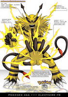 Pokedex 466 - Electivire FR by frbrothers86