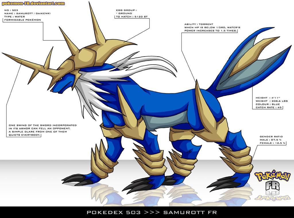 Pokemon Mega Samurott Images Pokemon Images