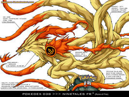 Pokedex 038 - Ninetales FR by frbrothers86