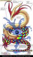 Pokedex 350 - Milotic FR by frbrothers86