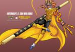 Infernape as Sun Wu Kong